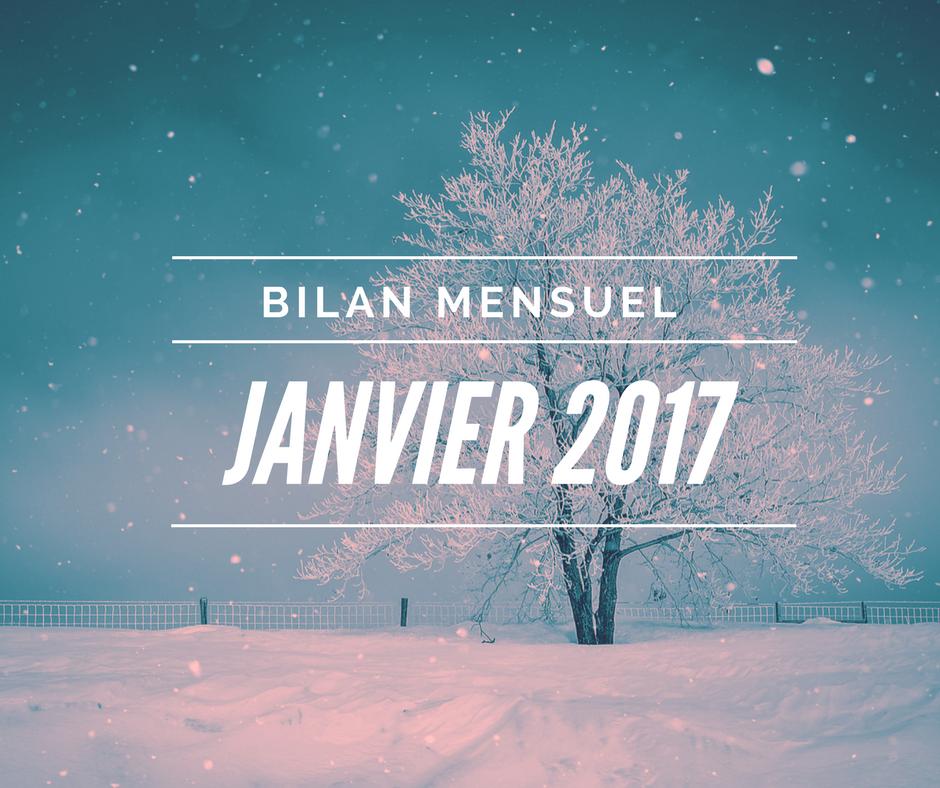 J'ai terminé mon livre ! | Bilan 01/2017