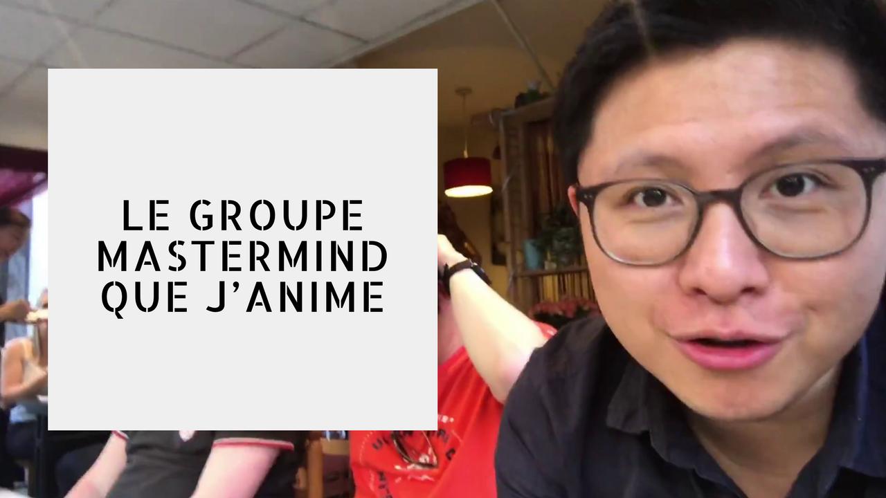 LE GROUPE MASTERMIND QUE J'ANIME | vlog #92