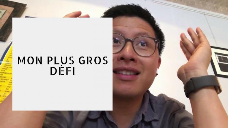 MON PLUS GROS DÉFI | Vlog #97